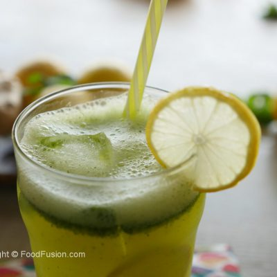 Iced-green-tea